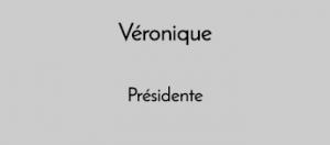 Veronique présidence Aigle Noir Productions